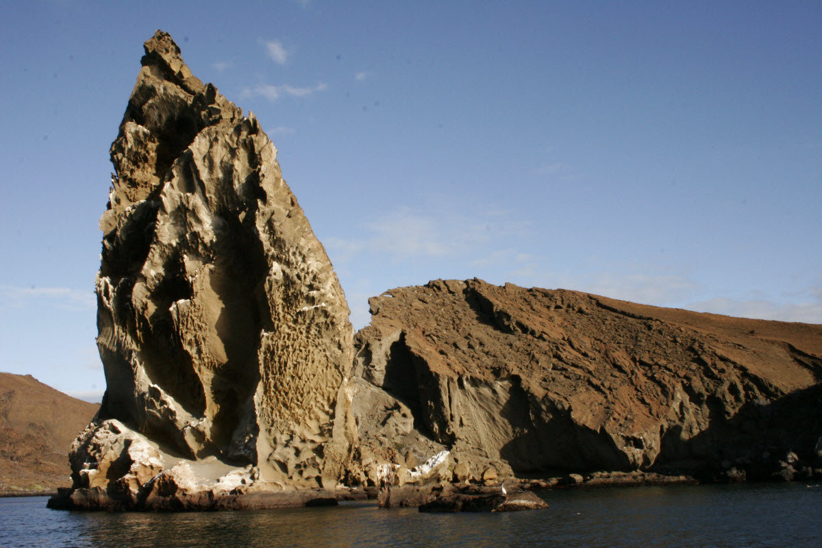 Pinnacle Rock in the Galapagos Islands