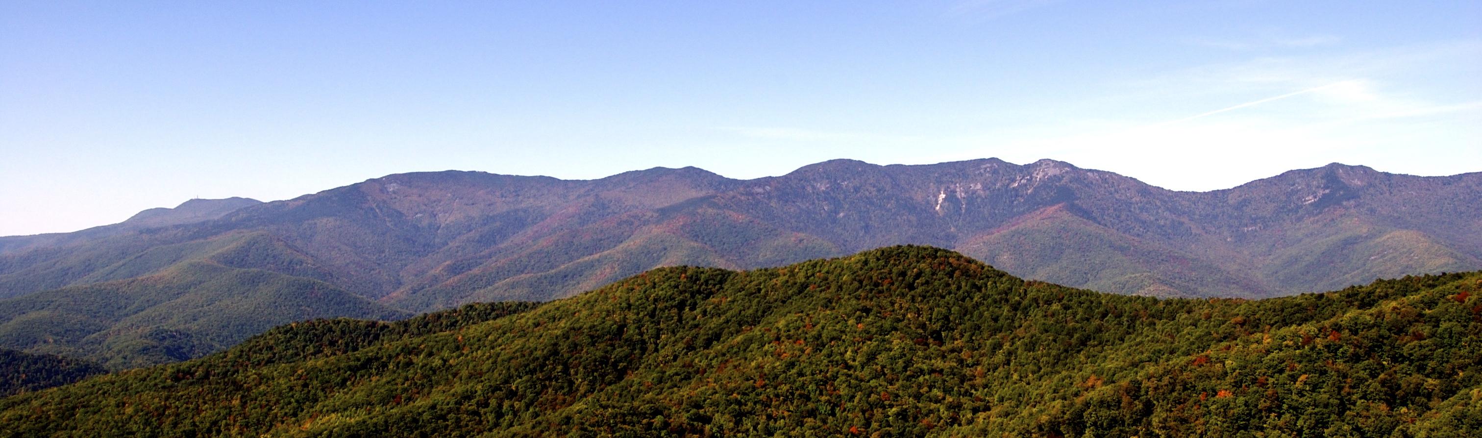 The Black Mountain Range