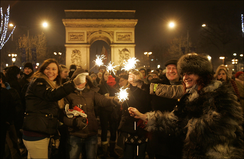 Paris, France new year