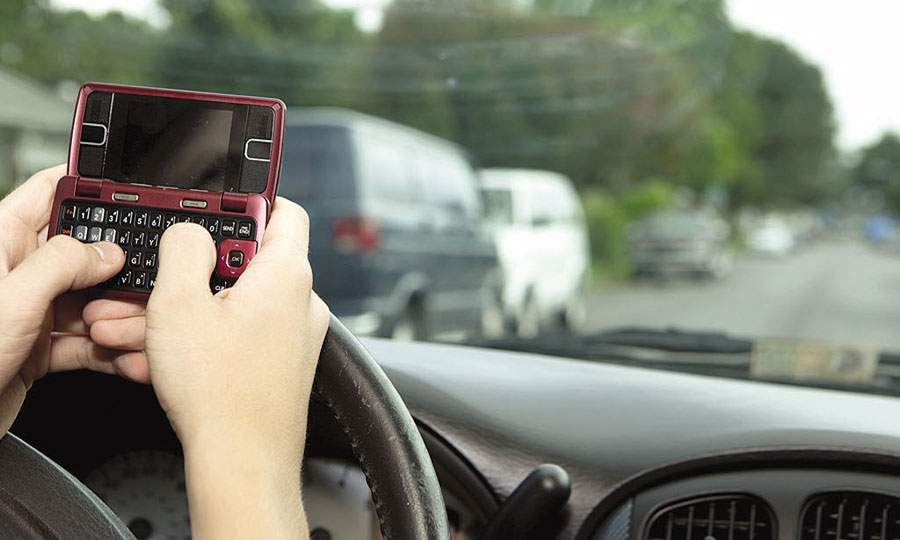 Using a Mobile Phone Whilst Driving