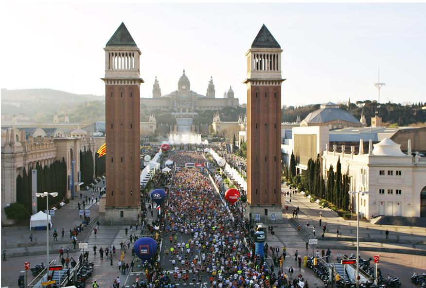 Barcelona Marathon 2011