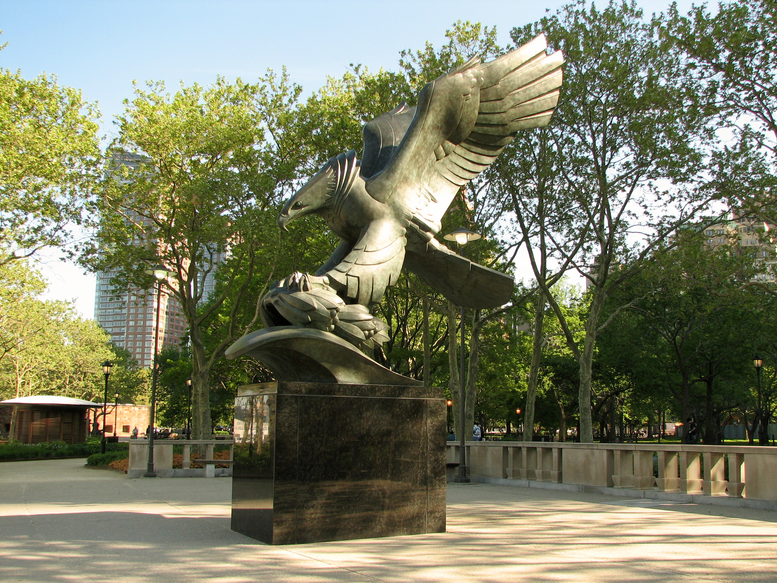 Battery Park War Memorial