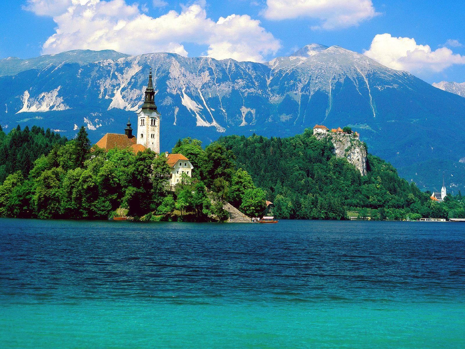 Vacances 2012  Lake-Bled-Slovenia