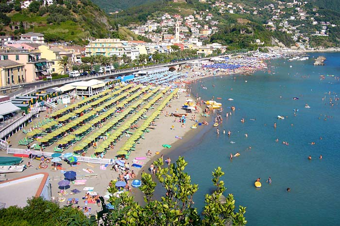 Moneglia resort town