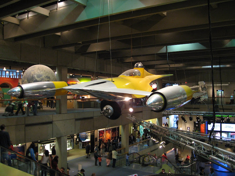 Naboo Starfighter, Boston Museum of Science