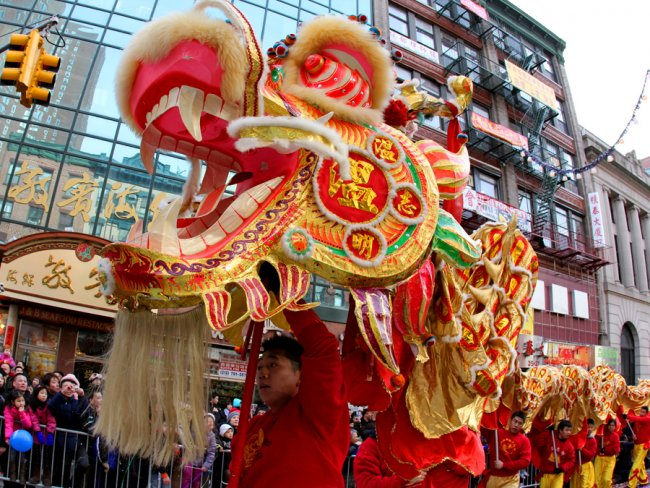 North America Chinese New Year