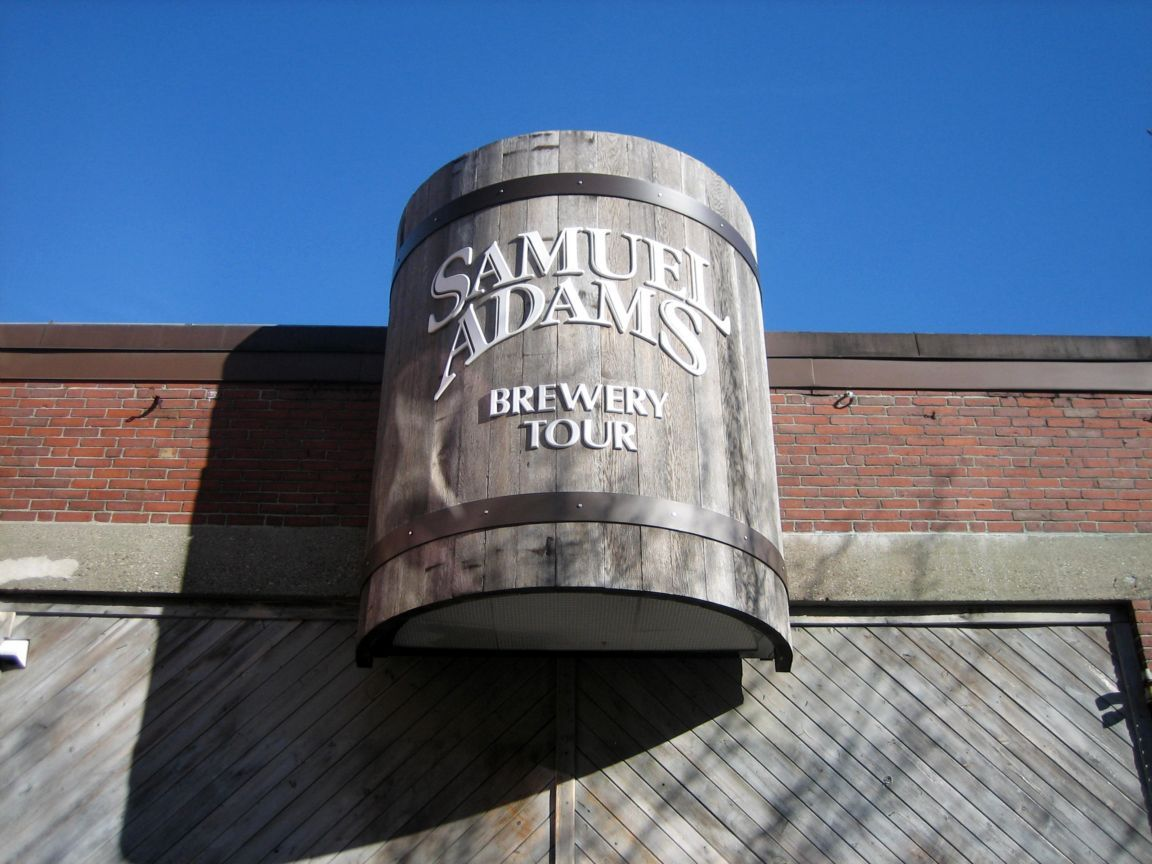 The Sam Adams Brewery