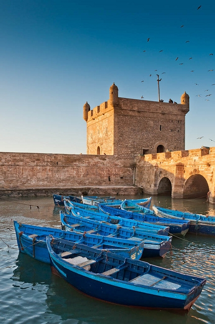 harbour town of Essaouira
