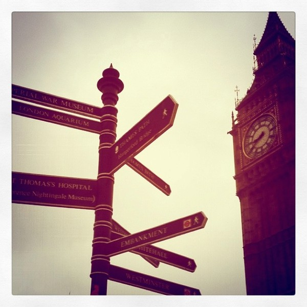 Navigating your Way around London