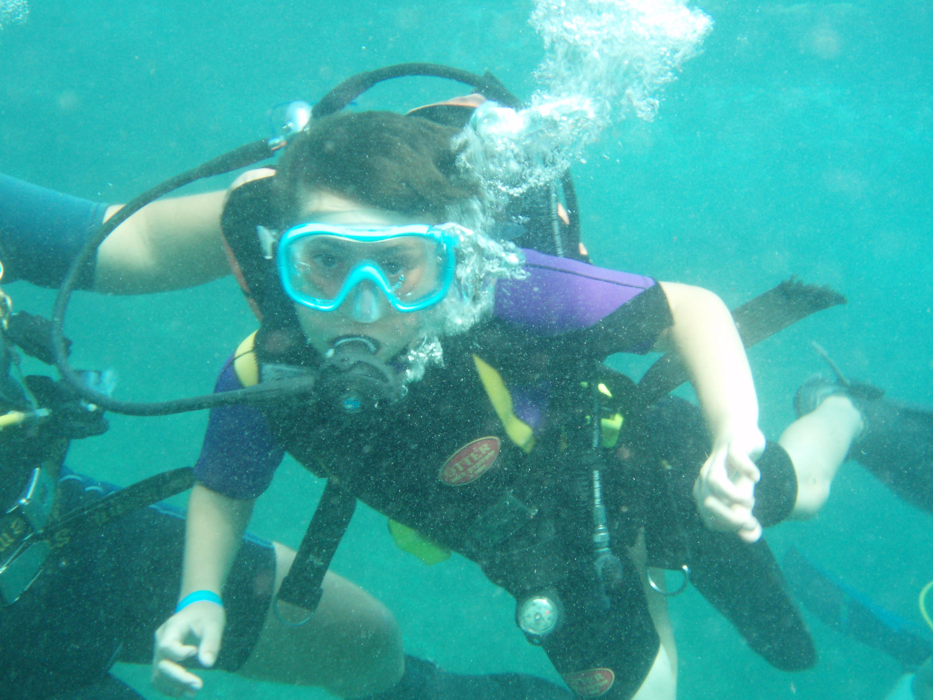 scuba diving in menorca