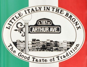 visiting Arthur Avenue in Littly Italy
