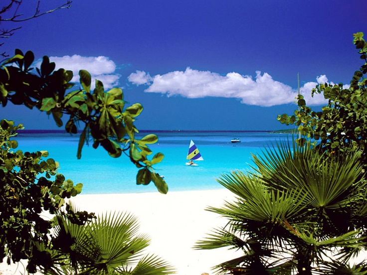 Bay, Anguilla, Caribbean