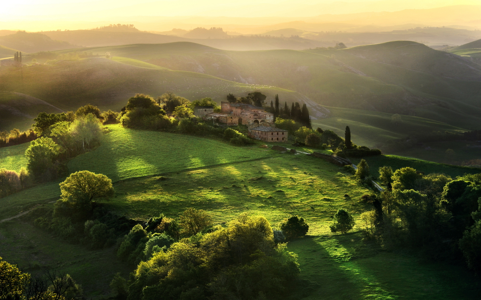 Pleasures of the Tuscan countryside