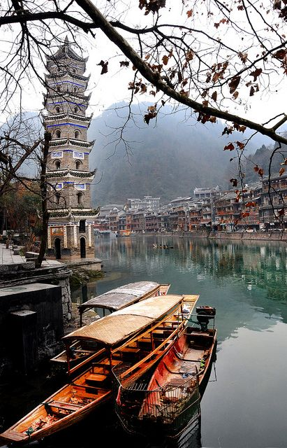 Phoenix Ancient Town, Hunan, China