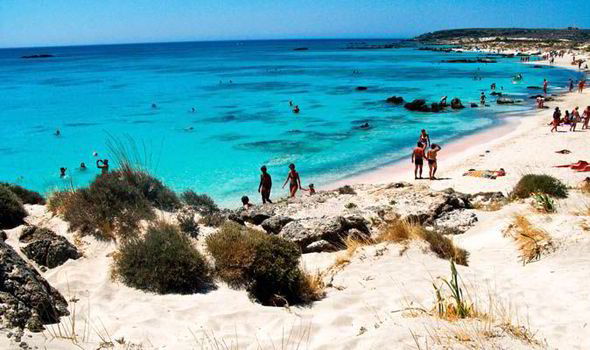 Greek party destinations