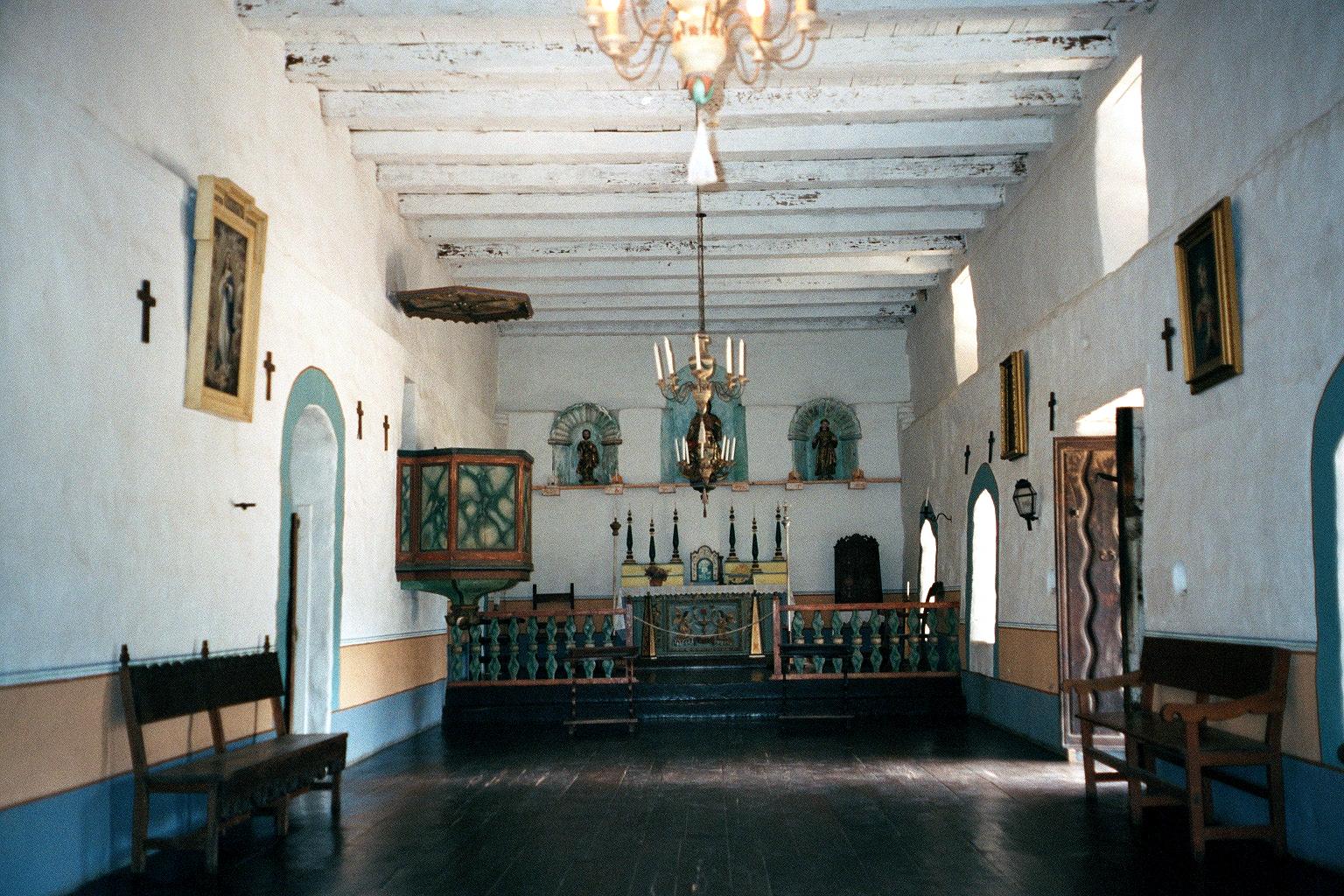 Chapel Interior at La Purísima Concepción
