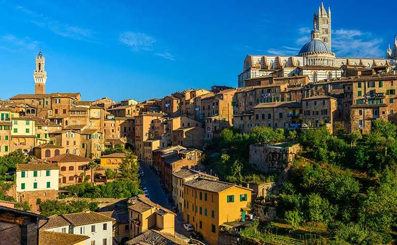 A charming holiday in a four stars hotel in Siena among art and nature introducing the Garden Hotel
