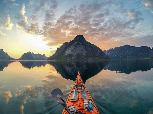 Amazing Images of Norway Fjords from the Unique Perspective of a Kayaker