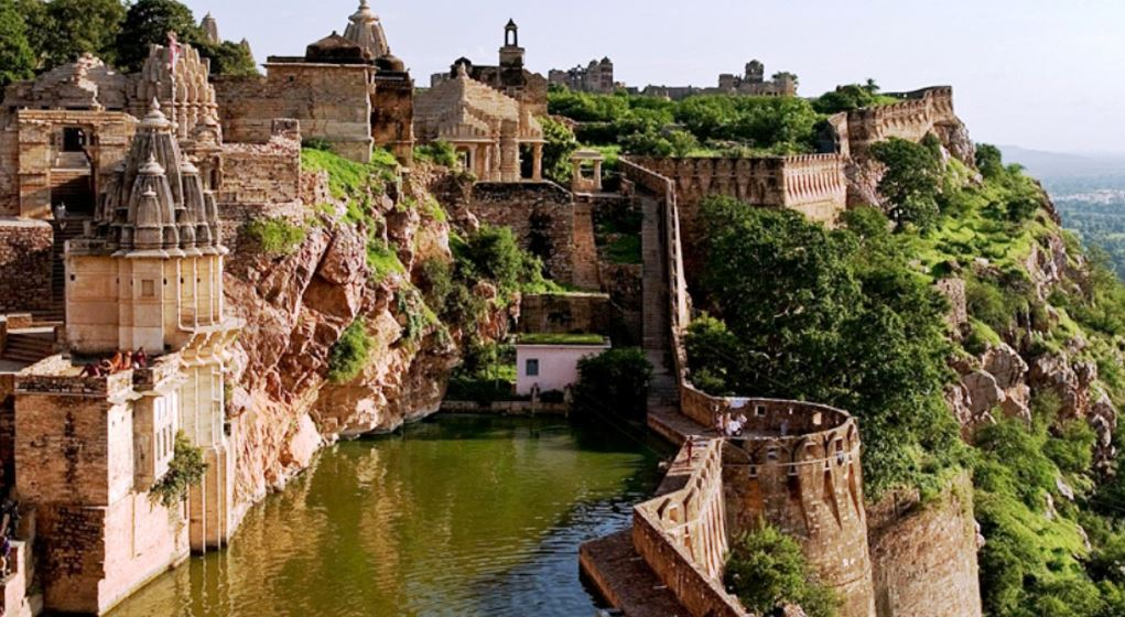 Chittorgarh Fort in India