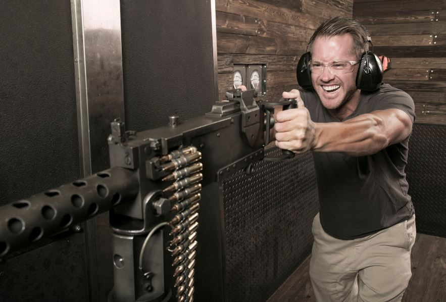 Las Vegas Shoot Machine Guns