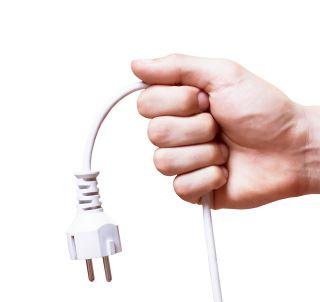 unplug electronic