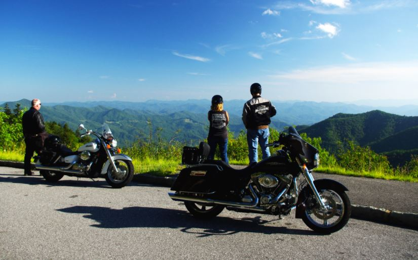 Motorcycle vacation Smokey Mountains