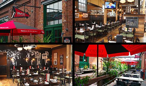 Toronto's Distillery District Mill Street Brew Pub