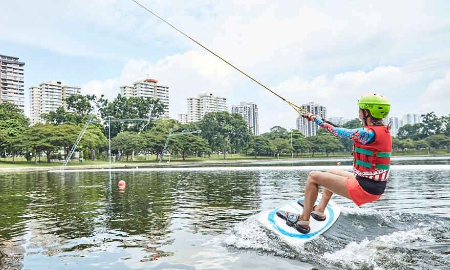 singapore Cable Skiing