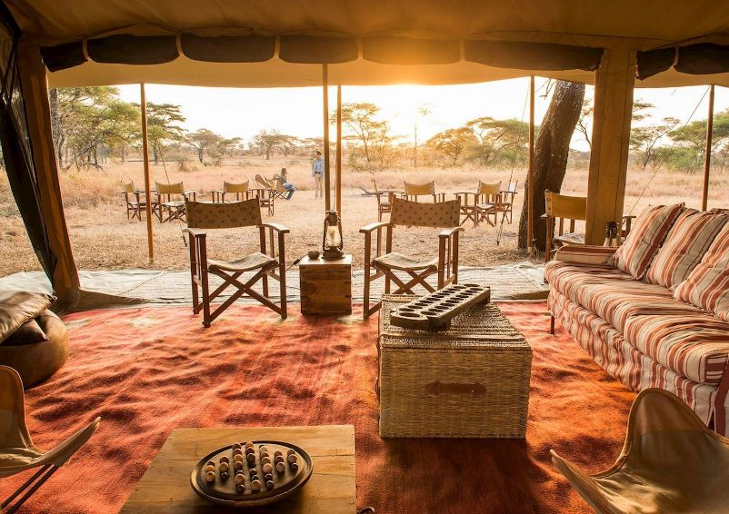The Nomad Serengeti Safari Camp