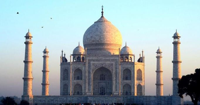 The Taj Mahal city