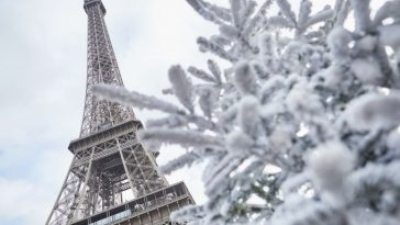 Visiting Paris in winter