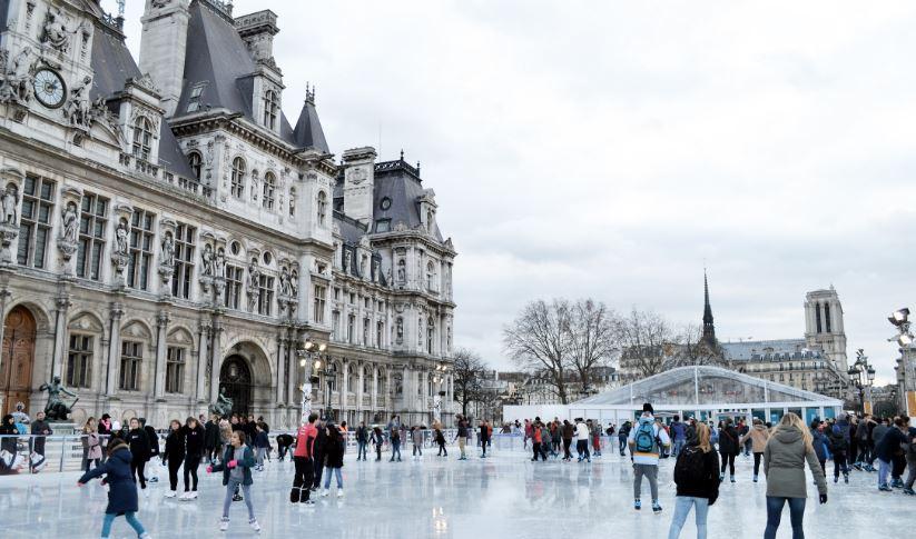 paris winter Hotel Chavanel