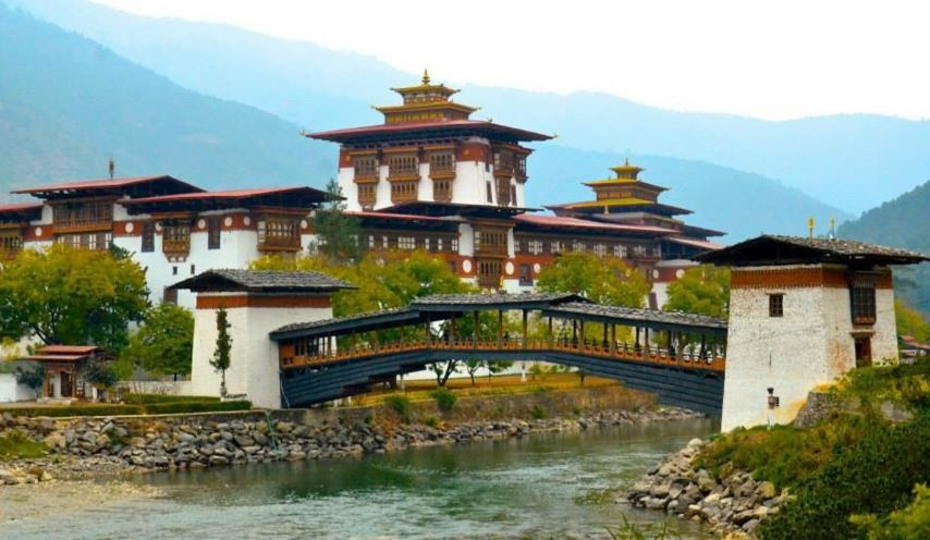 Dzong of Punakha, Bhutan
