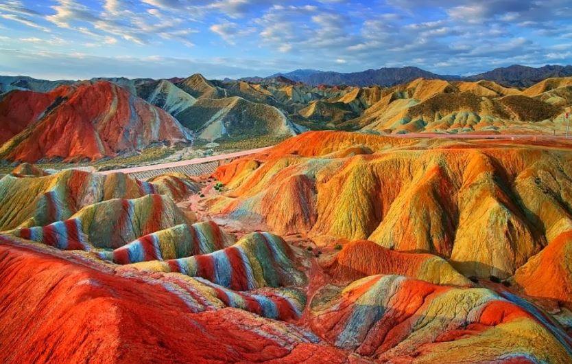 Zhangye Danxia National Geological Park, China