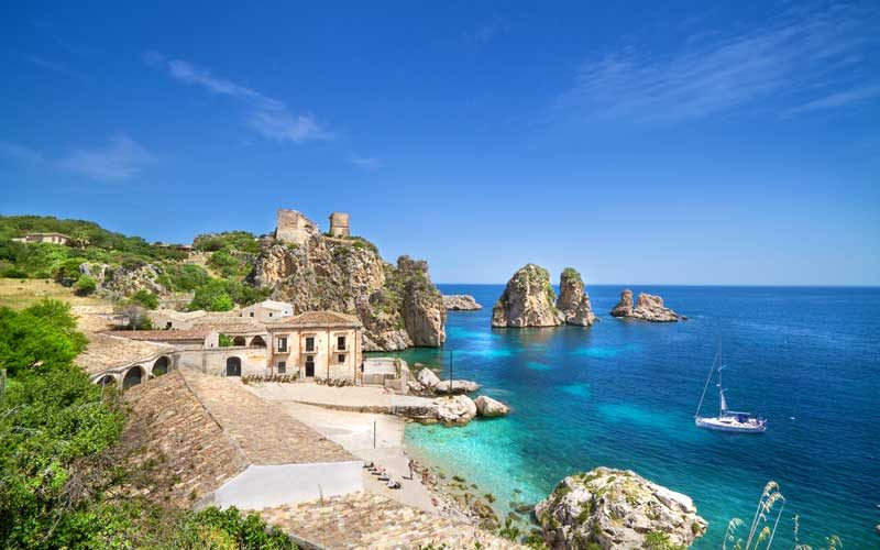 Scopello, north-western Sicily