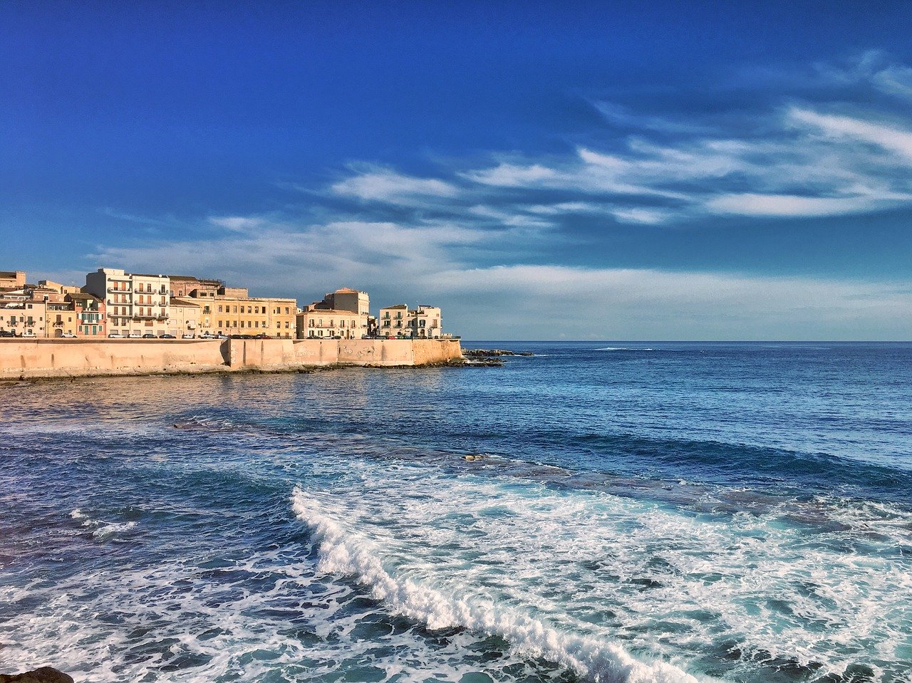 Syracuse, south-eastern Sicily