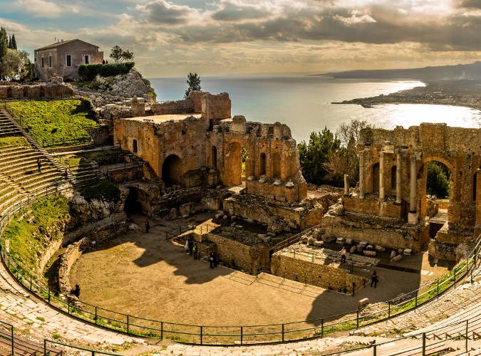 Taormina, the Pearl of the Ionian Sea